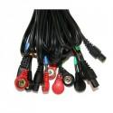 LOT 4 CABLES COMPEX SNAP