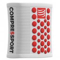 COMPRESSPORT SERRE POIGNET blanc